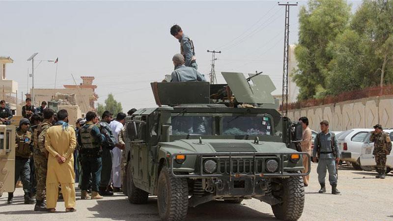 美军空袭致16名阿富汗警察身亡