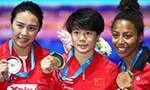 世锦赛:施廷懋与王涵包揽女子三米板冠亚军