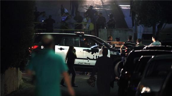 以色列驻约旦使馆发生持械伤人事件致一人受伤