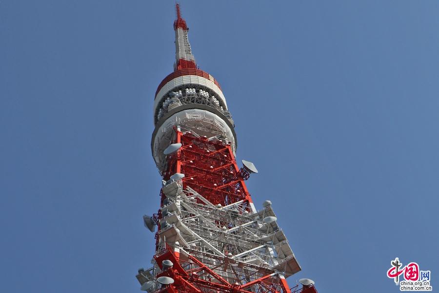 东京塔250米处为圆形的特别瞭望台