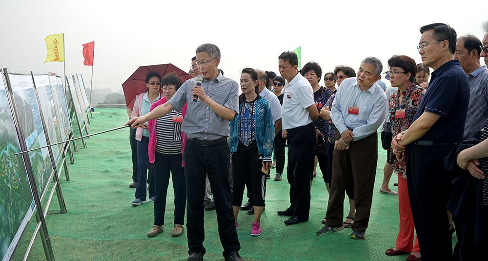 北京市政协调研世园会筹备进展情况