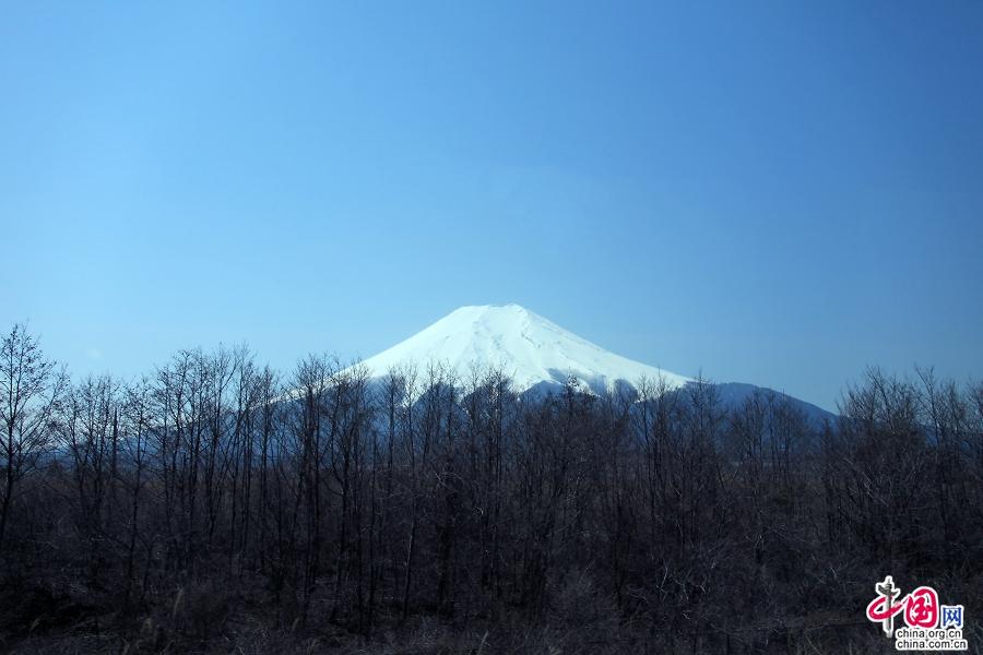 富士山一合目位于山脚,海拔1291米