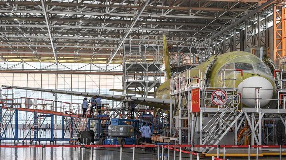 国产大型客机C919第二架飞行试验机预计今年第四季度首飞