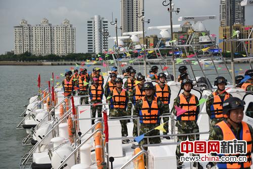 8艘BF1500型摩托艇正式入列珠海公安边防支队