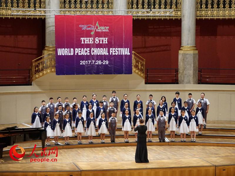 北京天使童声合唱团应邀参加世界和平合唱节,成为继维尔纳童声合唱团之后第二支在合唱节进行特邀演出的童声合唱团。他们表演的曲目是《流水恋歌》、《Feel good》。
