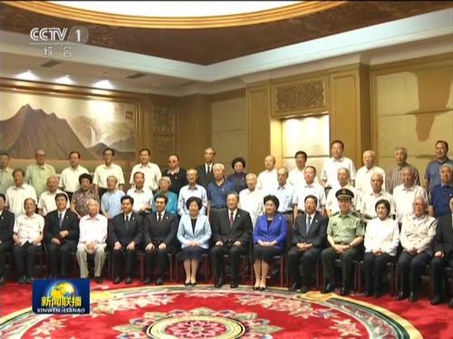 俞正声/俞正声会见内蒙古自治区离退休老同志和各族各界群众代表