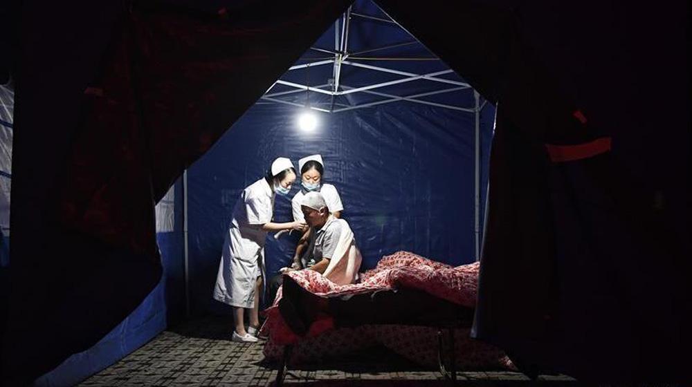 九寨沟县人民医院收治地震伤员