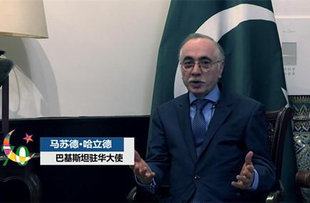 """巴基斯坦驻华大使:我们是""""一带一路""""倡议的积极响应者"""