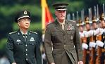 房峰辉与美军参联会主席举行会谈