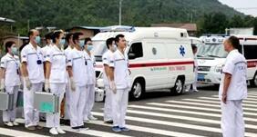 垫江县开展交通事故医疗应急演练 保障生命安全