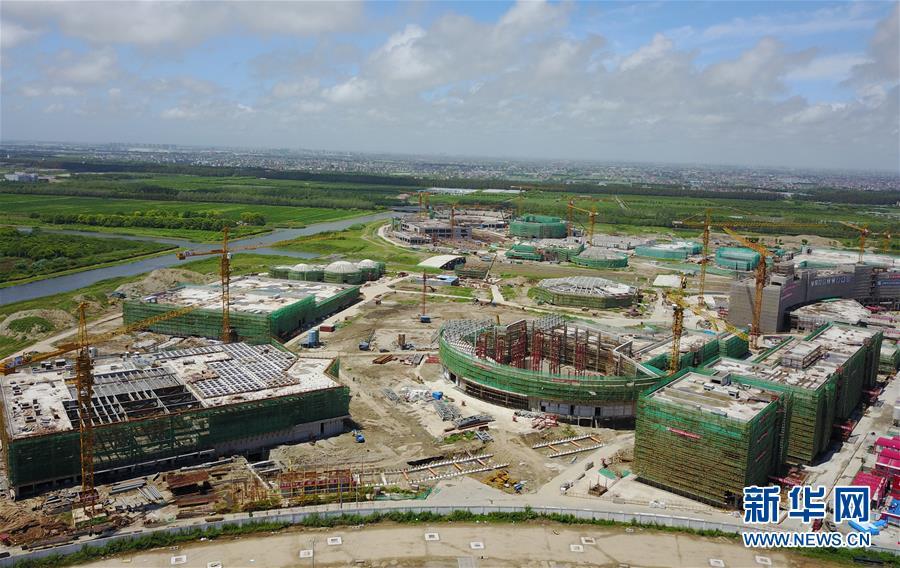 上海海昌海洋公园雏形初现 图片中国 中国网