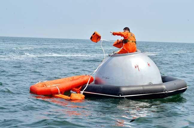 中欧航天员海上救生训练圆满完成