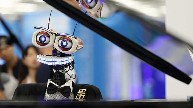 北京上演機器人總動員 記者探營2017世界機器人大會