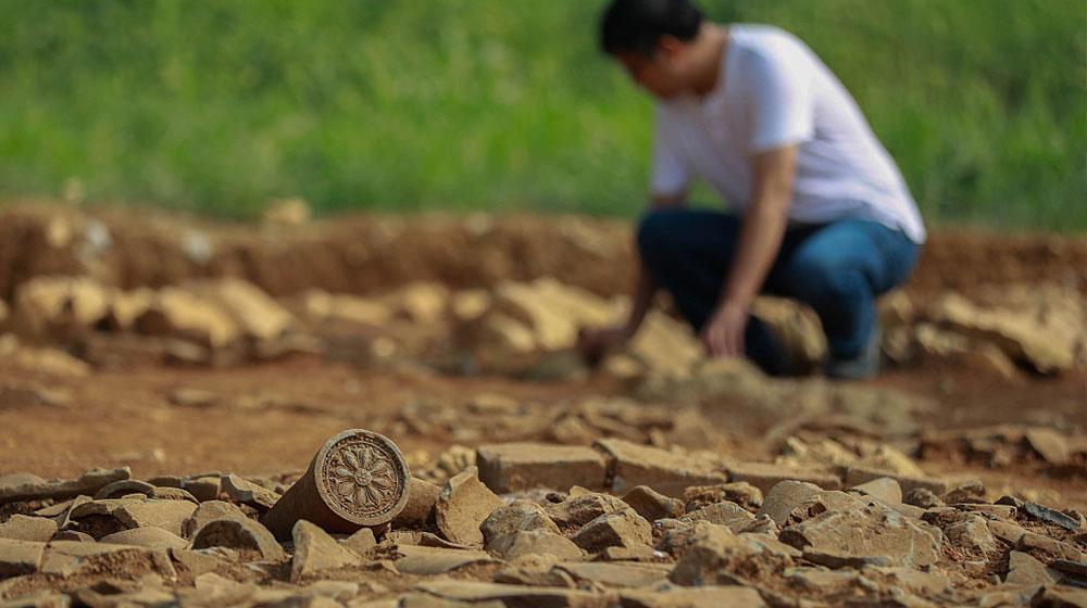 江苏淮安:考古发现大量跨度千年文物