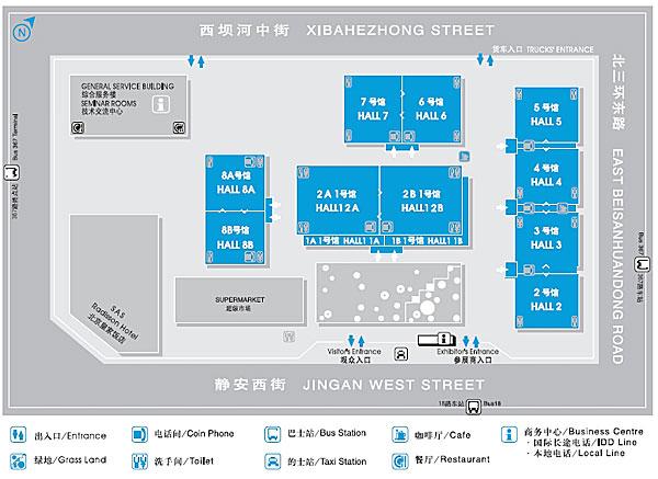 第十二届北京文博会主展场展区分布及展览介绍