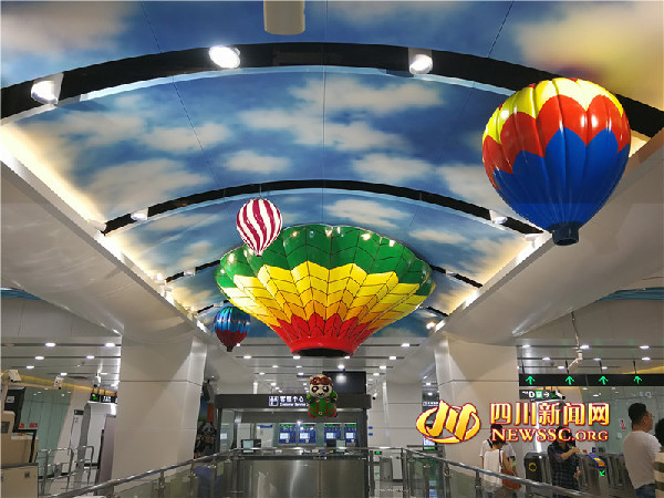成都双流机场1号线_成都地铁首条机场专线10号线亮相_新闻中心_中国网