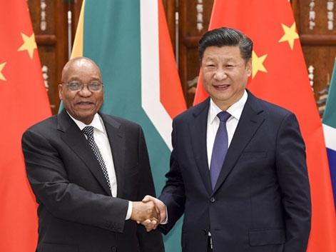 """中國與南非:書寫發展中國家友誼 擴大金磚""""朋友圈"""""""