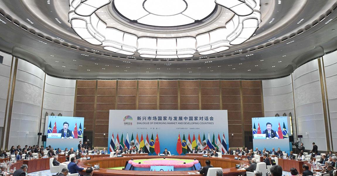 習近平主持新興市場國家與發展中國家對話會併發表重要講話
