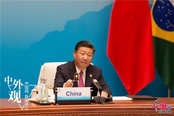外媒关注金砖厦门会晤:五国携手同行 合作行稳致远