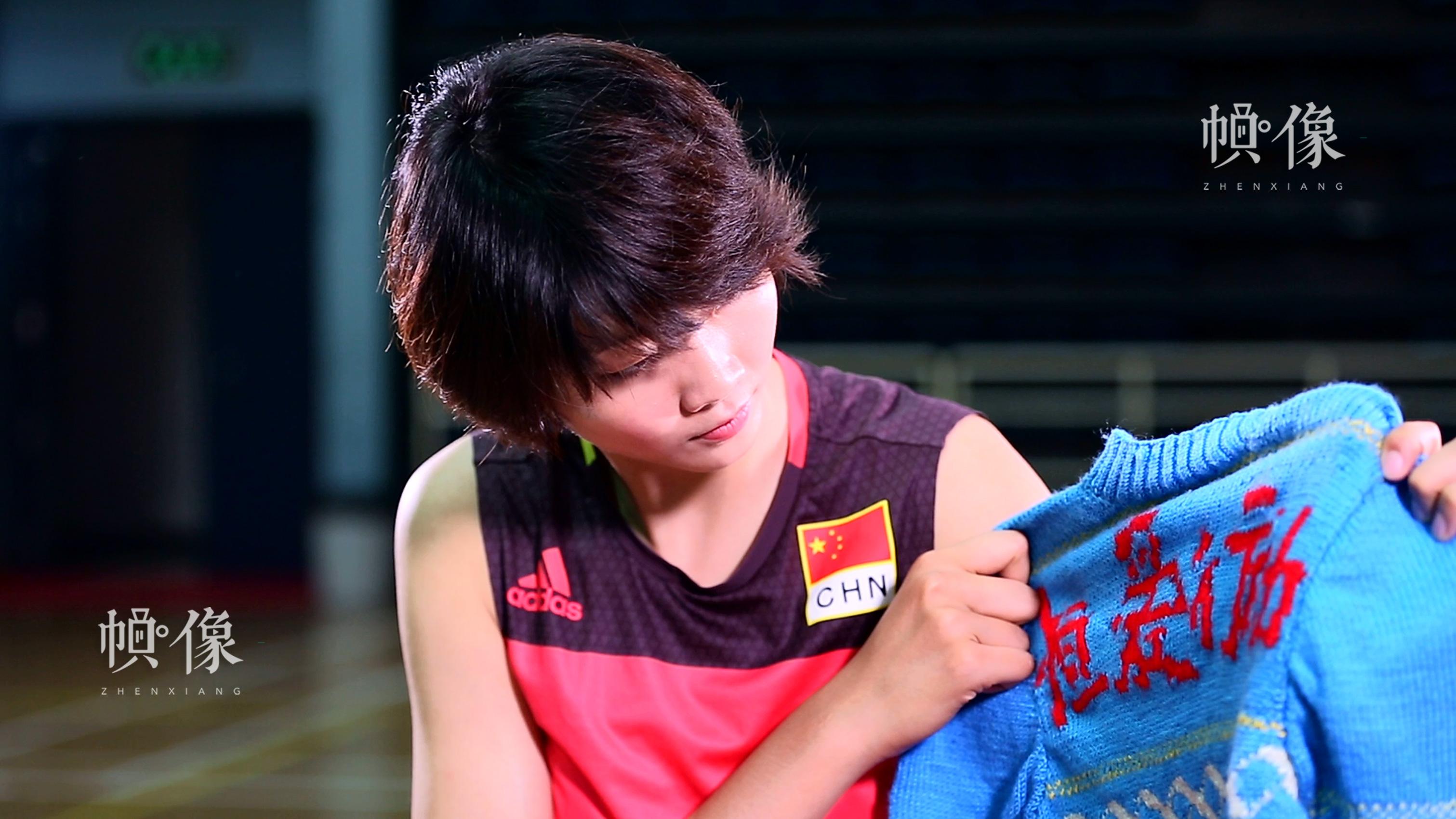 袁心玥助力恒爱行动。中国儿童少年基金会供图。