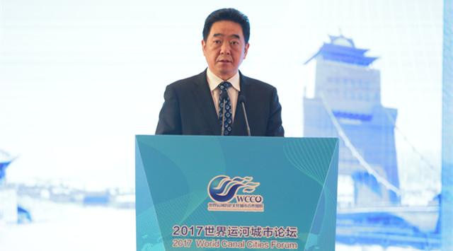 """张爱军:共筑""""绿色+文化""""的运河盛景"""