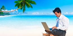上班族旅行报告:多数人旅行时工作