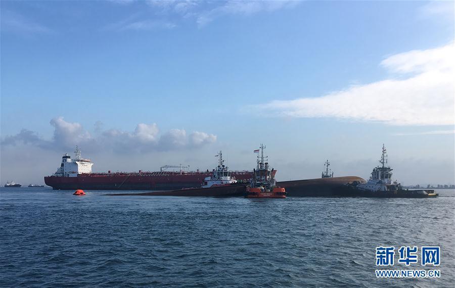 (XHDW)新加坡海域一挖沙船傾覆 4名中國籍船員失蹤