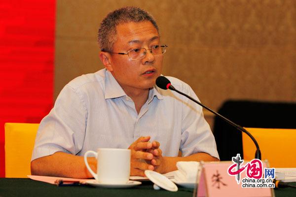 中国医学科学院信息研究所副主任朱坤副研究员
