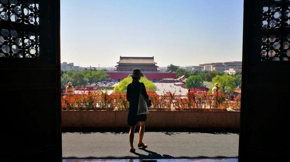 北京进入秋高气爽时节 蓝天持续