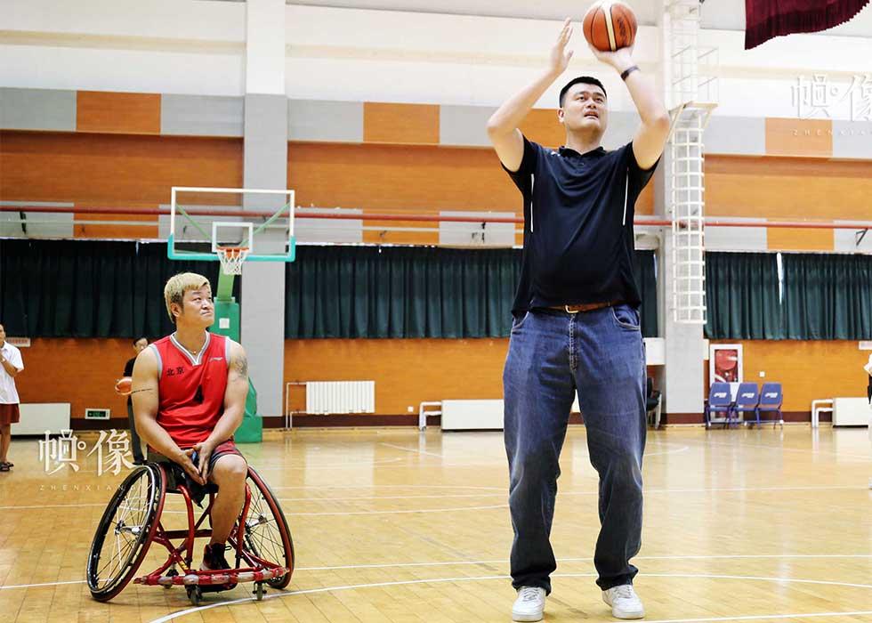 第38期:轮椅篮球追梦者:我要做的就是进球