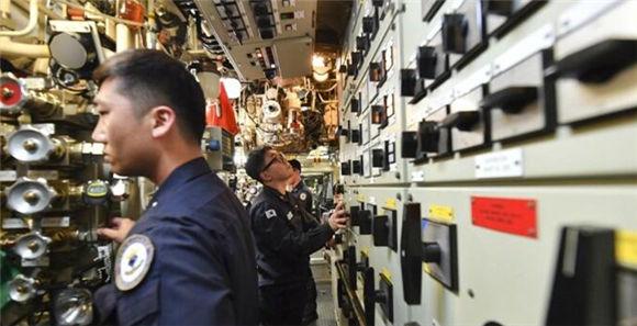 南韓最新自研潛艇內部曝光