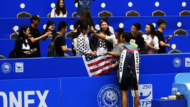 2017年ATP250成都公开赛开拍