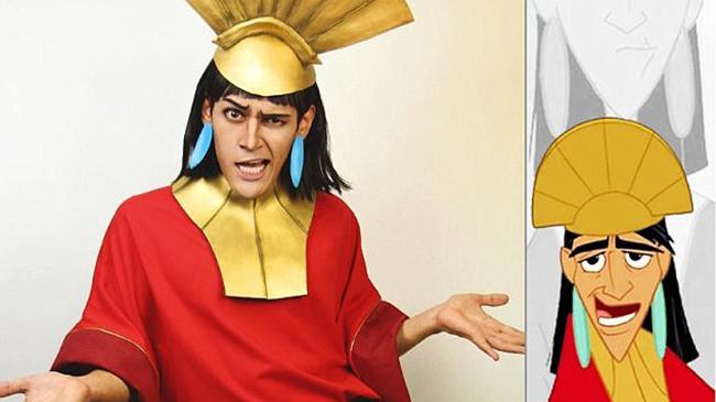 美小伙扮迪士尼经典卡通形象受网友追捧