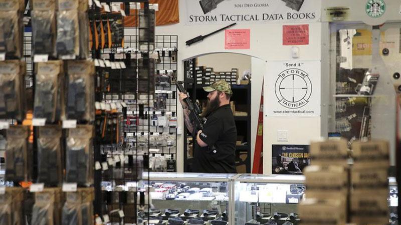 探访拉斯维加斯枪械商店