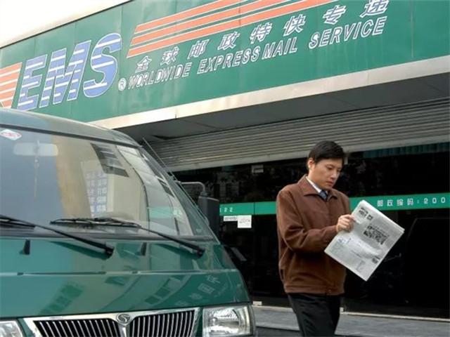 """中国邮政初步建成了""""国内领先、世界一流""""的陆运网,全网日处理能力达2400万件。中新社记者 刘建民 摄"""