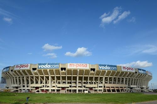 资料图:是刚果(金)首都金沙萨的烈士体育场外景。该体育场是中国援建的八万人体育场。新华社发