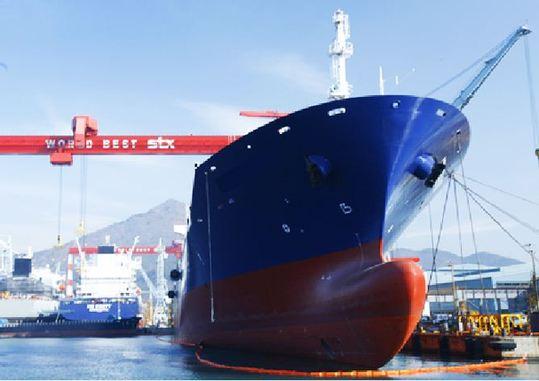 ▲韩国造船公司STX