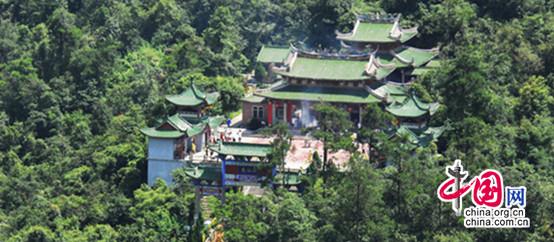 贺州姑婆山:仙姑庙