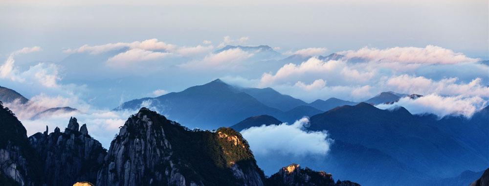 世上縱有千般雲海山林 終不是黃山(組圖)