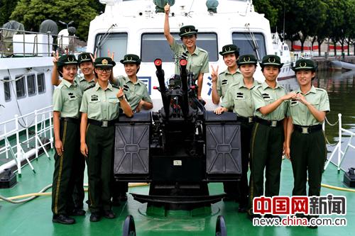 """中国海警新一代""""警花""""养成记"""