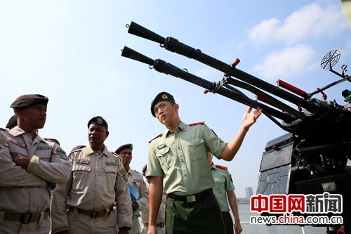 中国海警培训东帝汶海警工作在广州正式开班