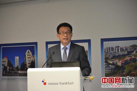 中国驻法兰克福总领事王顺卿致辞