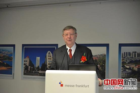 德国曼海姆市前第一副市长介绍他与中国青岛之缘