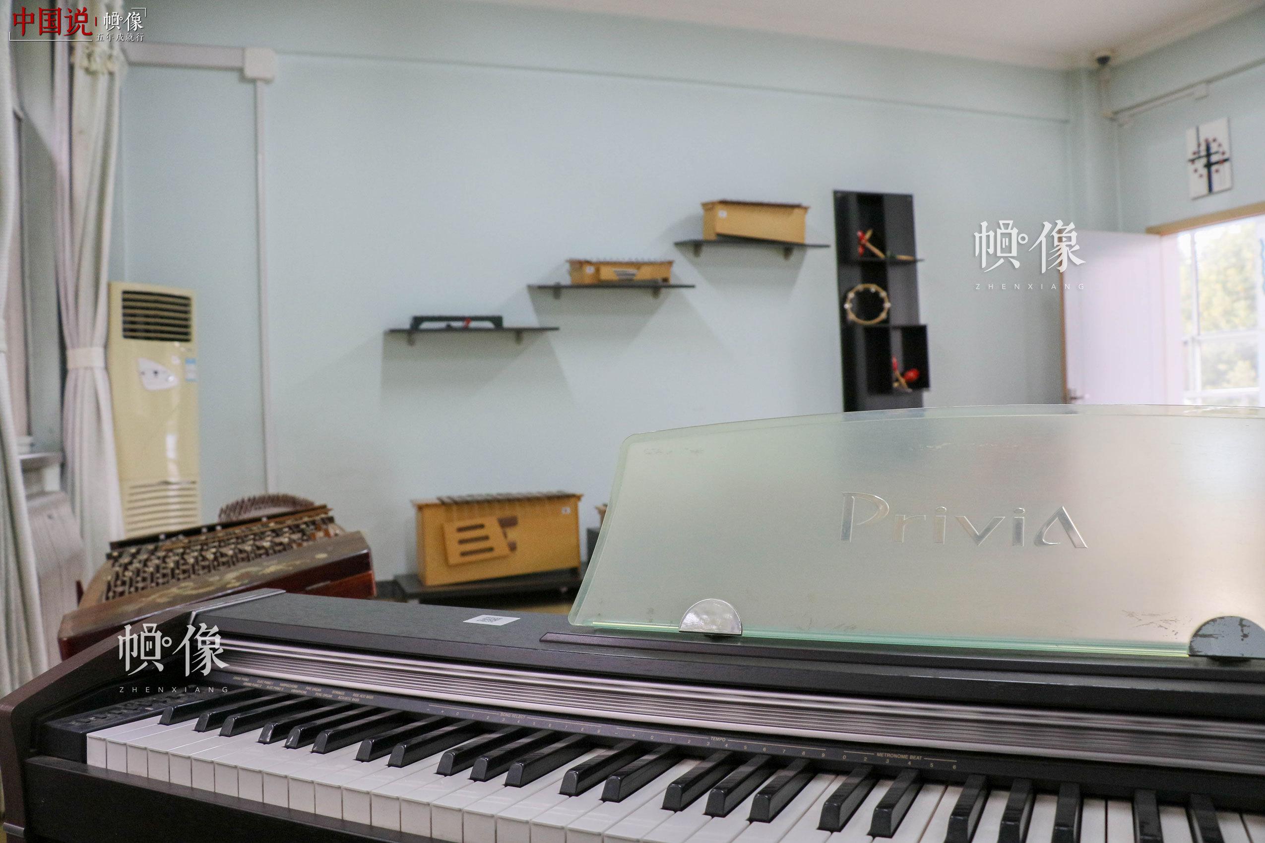 北京市天堂河女子教育矫治所团体活动室。中国网记者 赵超 摄