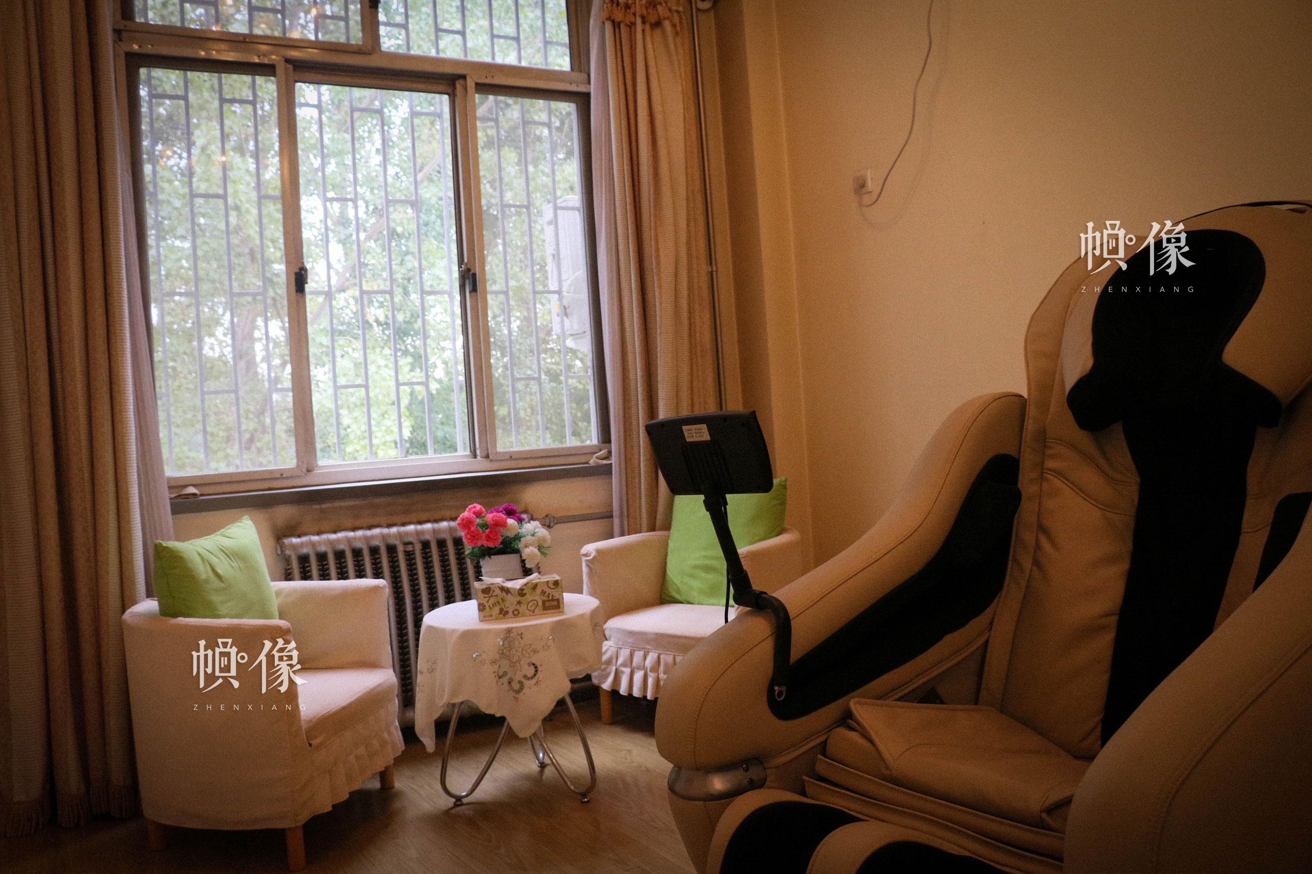 北京市天堂河女子教育矫治所心理治疗室。中国网记者 赵超 摄