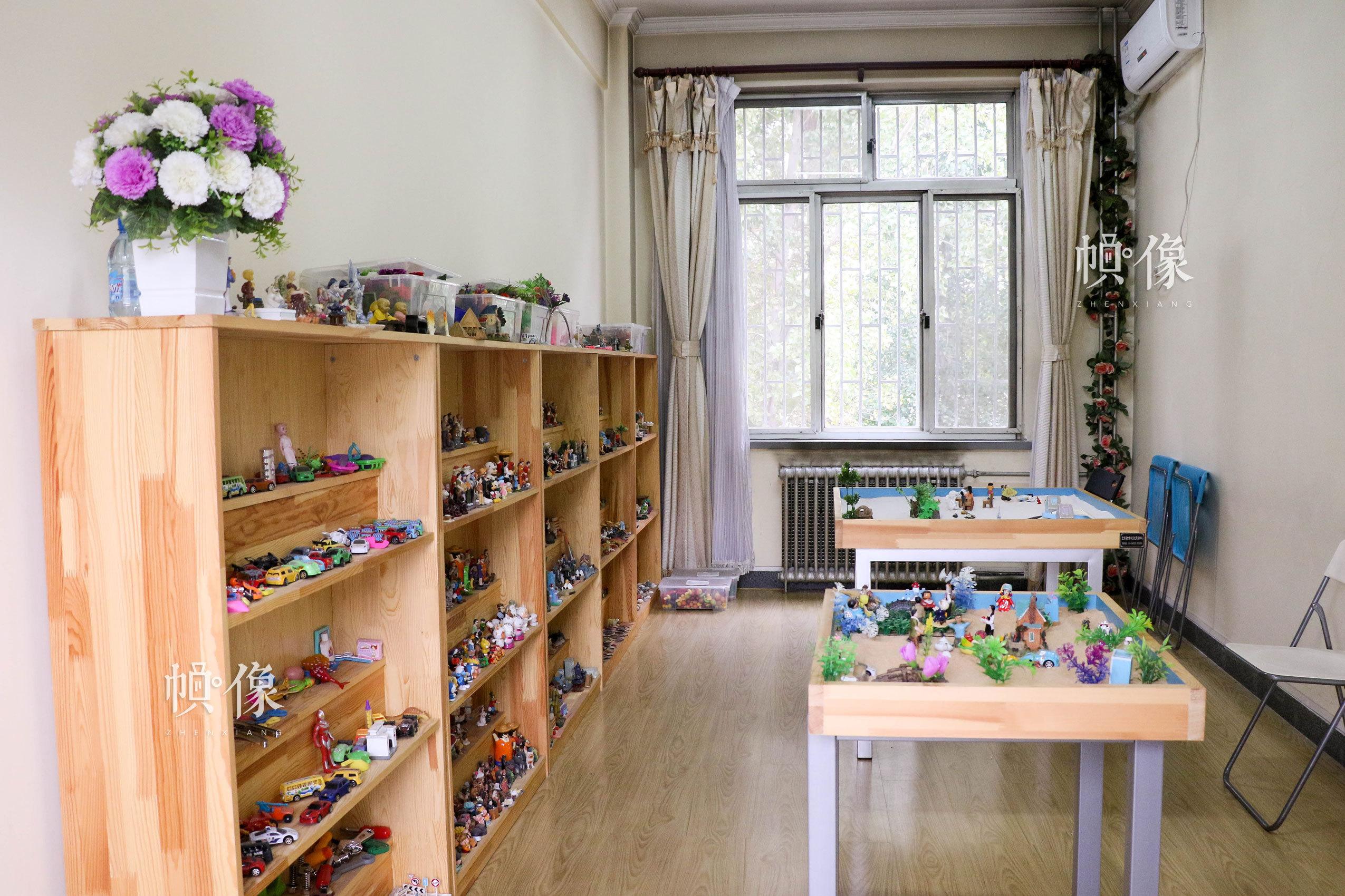 北京市天堂河女子教育矫治所心理咨询室。中国网记者 赵超 摄