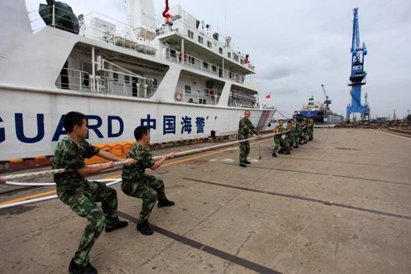 上海海警开展丰富甲板文化活动