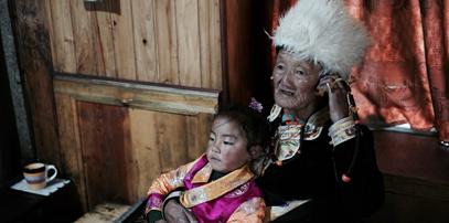 民俗文化|达古景区藏寨家访体验藏族生活