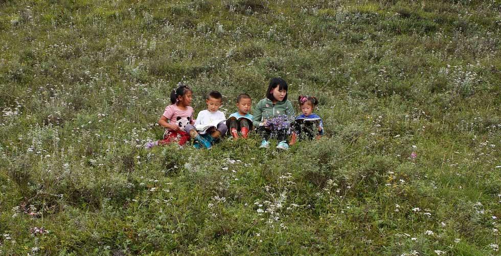 深山鄉村女教師和她的四個學生