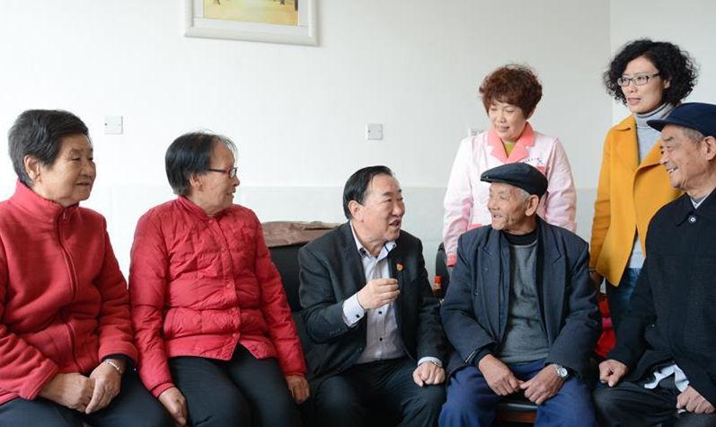 """亓庆良:山村里也有了健康中国""""大梦想"""""""